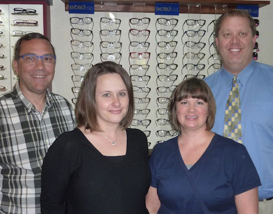(From left to right) Scott, Jessi, Judy, and Dr. Schuller